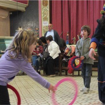 Aquest dissabte, tallers de Circ per a adults i Circ en família a La Tramolla