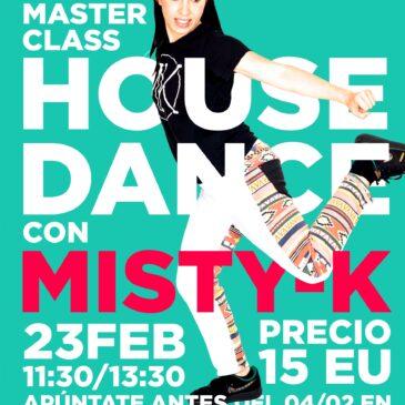 MasterClass de House Dance amb Misty-K
