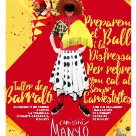 Comencem les activitats pel Carnaval 2019: Taller de Barraló aquest diumenge a La Tramolla!