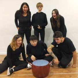 La Tramolla organitza dues jornades teatrals a escoles de Mollet i estrena la seva primera producció de teatre infantil