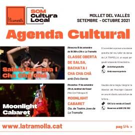 Agenda Cultural – Setembre/Octubre 2021
